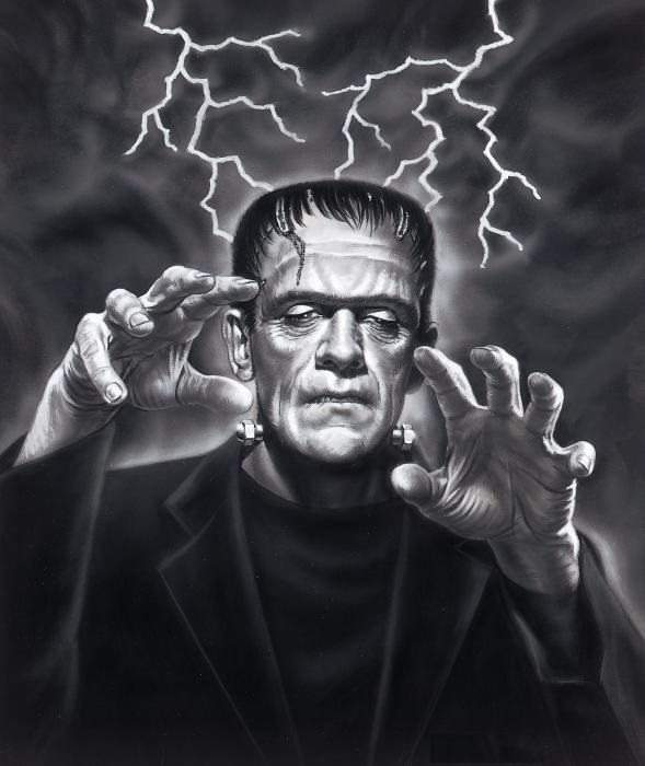 frankenstein monster.