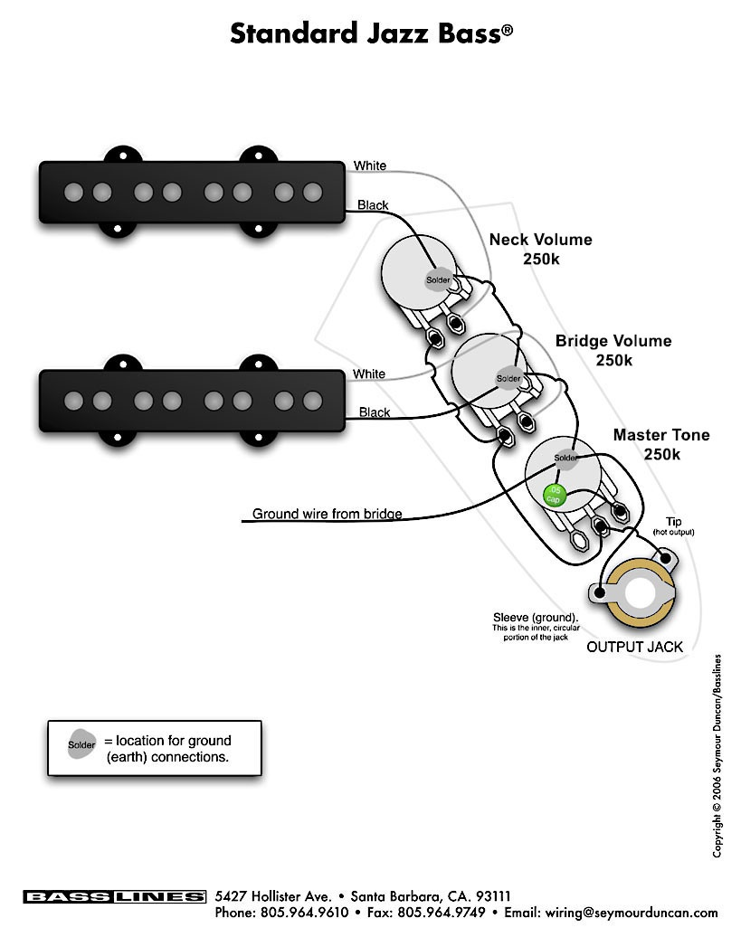 Wiring Difference Hot To Jack Versus Tone Pot The Two Pushpull Potis One On Vol Poti Switches Free Schematic And Jazz Bass Diagram Standard