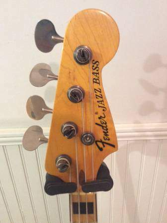 Geddy headstock front.