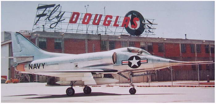 For aircraft enthusiasts: the Douglas A4 Skyhawk, 60 years