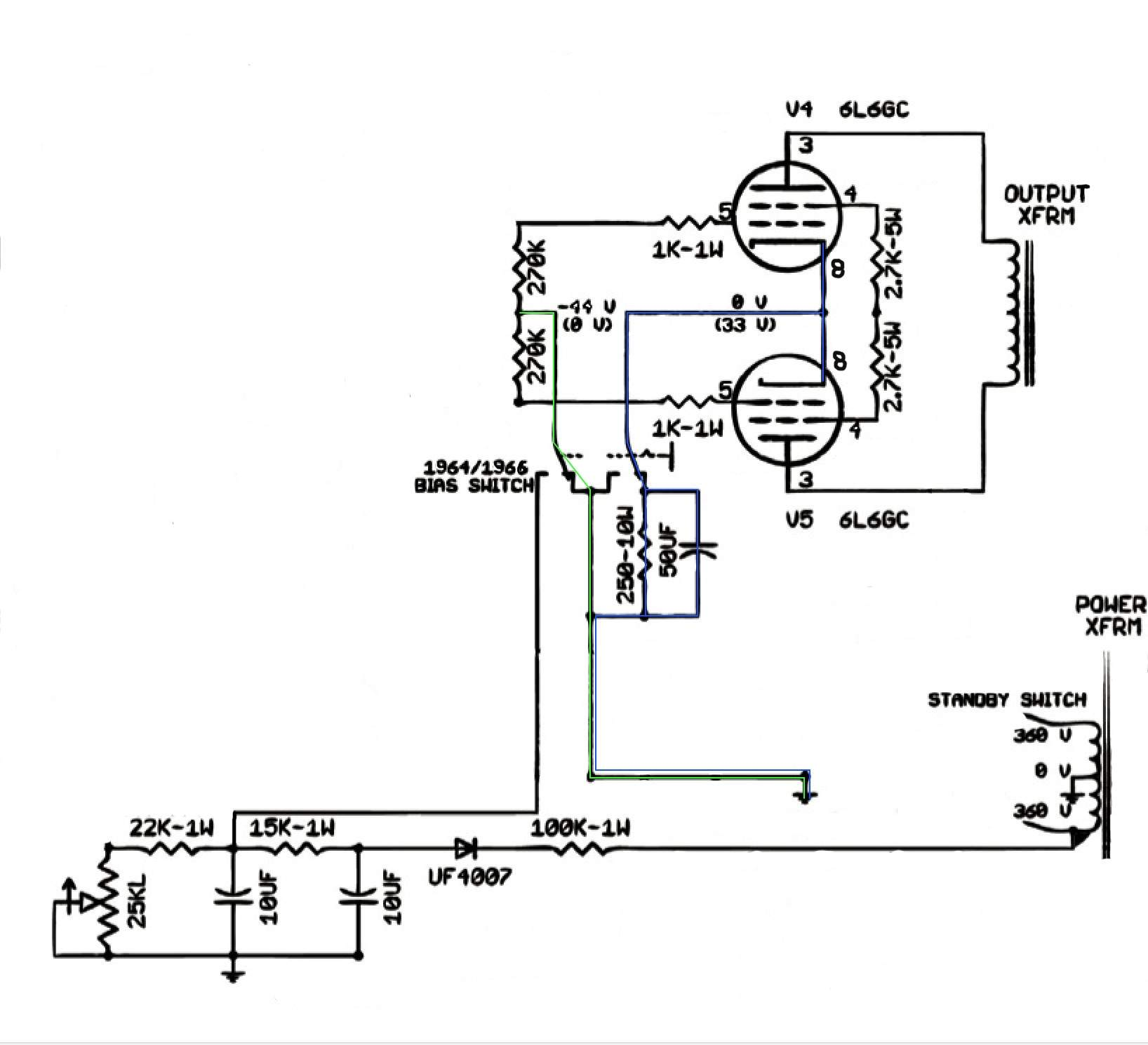 bias tube amp circuit diagrams wiring diagrams