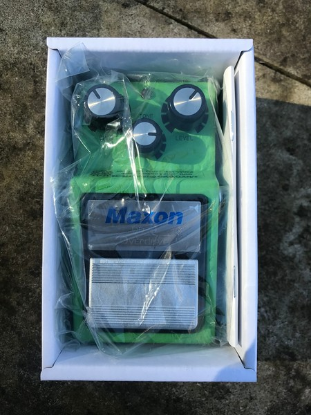 SOLD - Maxon OD-9 Overdrive - AnalogMan True Vintage Mod