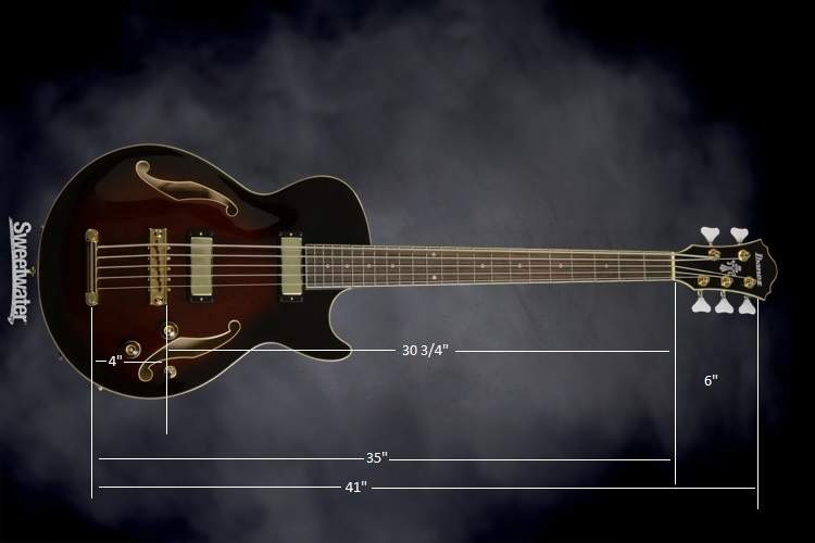 Ibanez 5 measured.