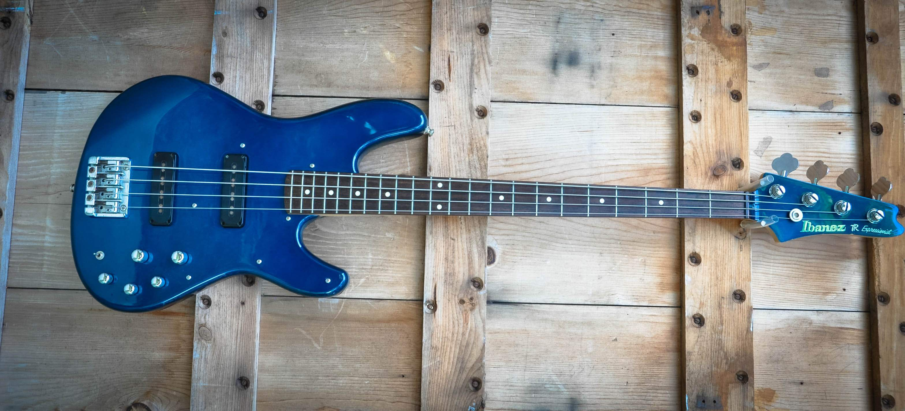 SOLD - REDUCED ! 1997 Ibanez TR 600 RB Jazz Bass Killer!-Made in ...