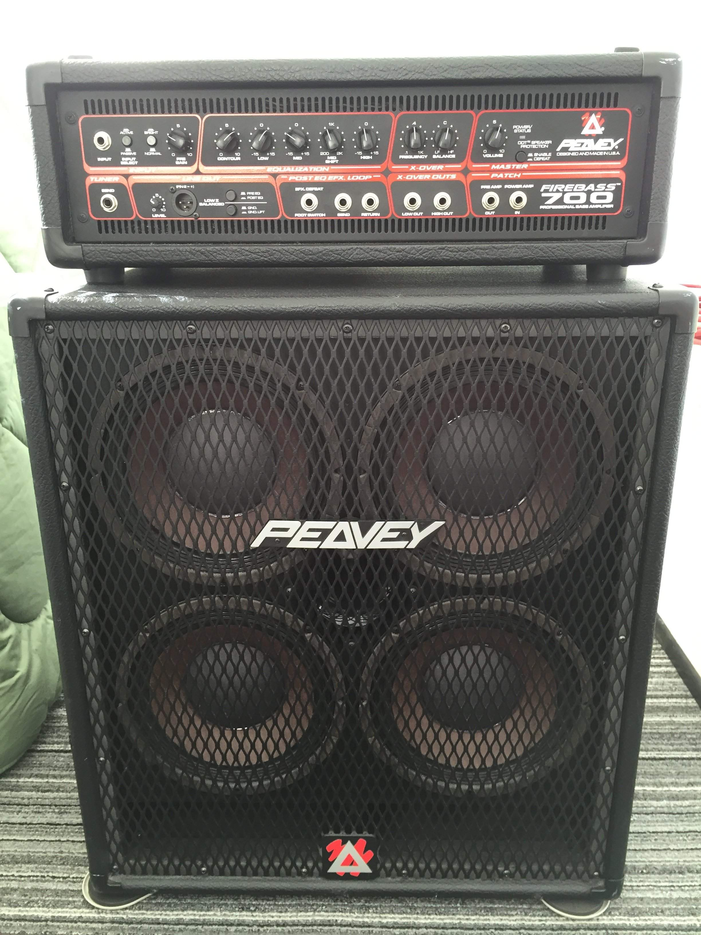 For Sale - Peavey 410 TVX Bass Cabinet (Excellent Condidtion ...