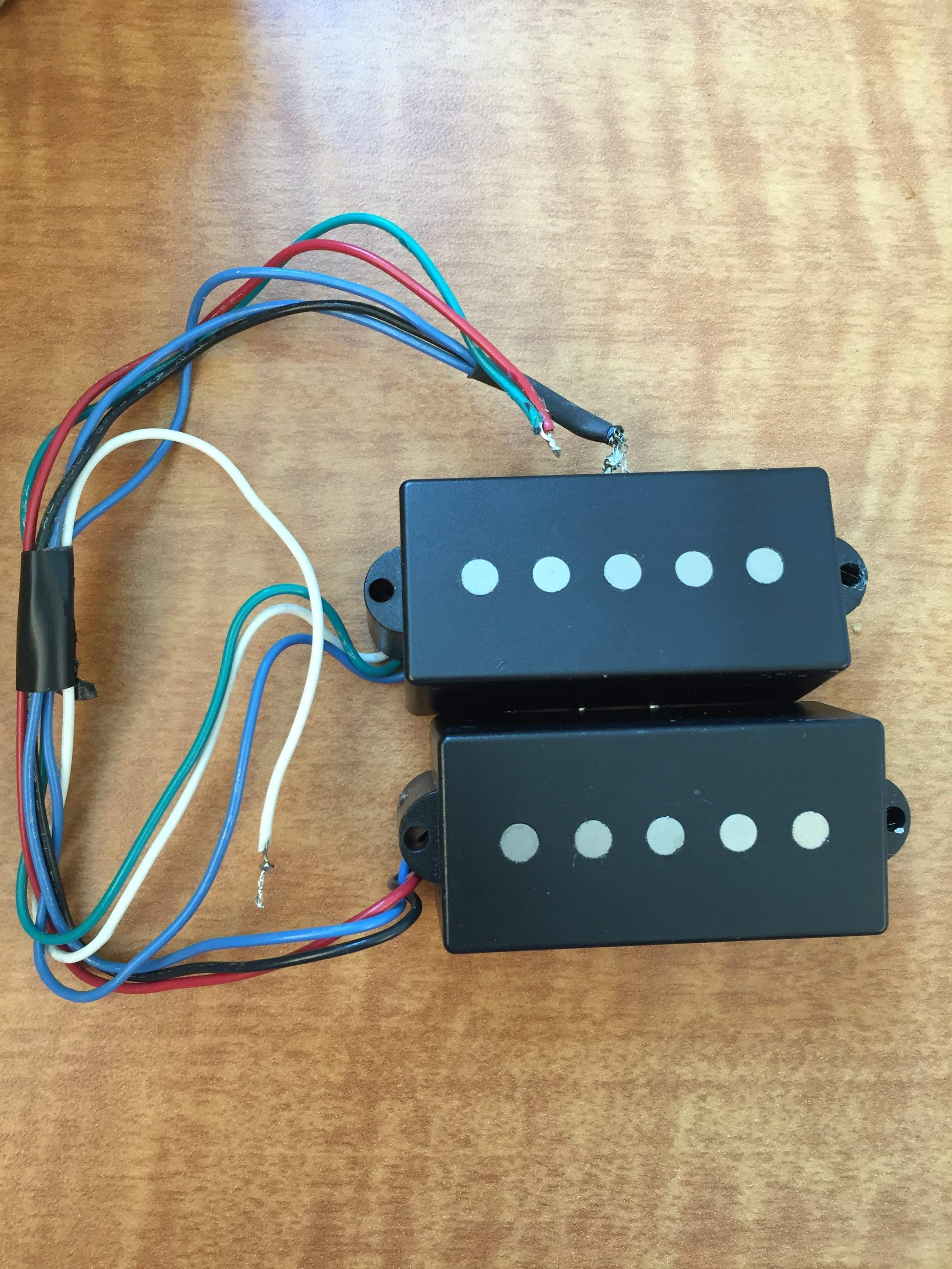 Wilde Pickup Wiring Schematic Diagrams Bill Lawrence Traded P46 P Bass Pickups Talkbass Com 2wire