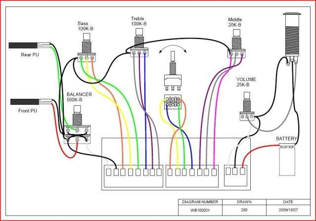 wiring passive talkbass com rh talkbass com 5 Channel Amp Wiring Diagram Bose Amplifier Wiring Diagram