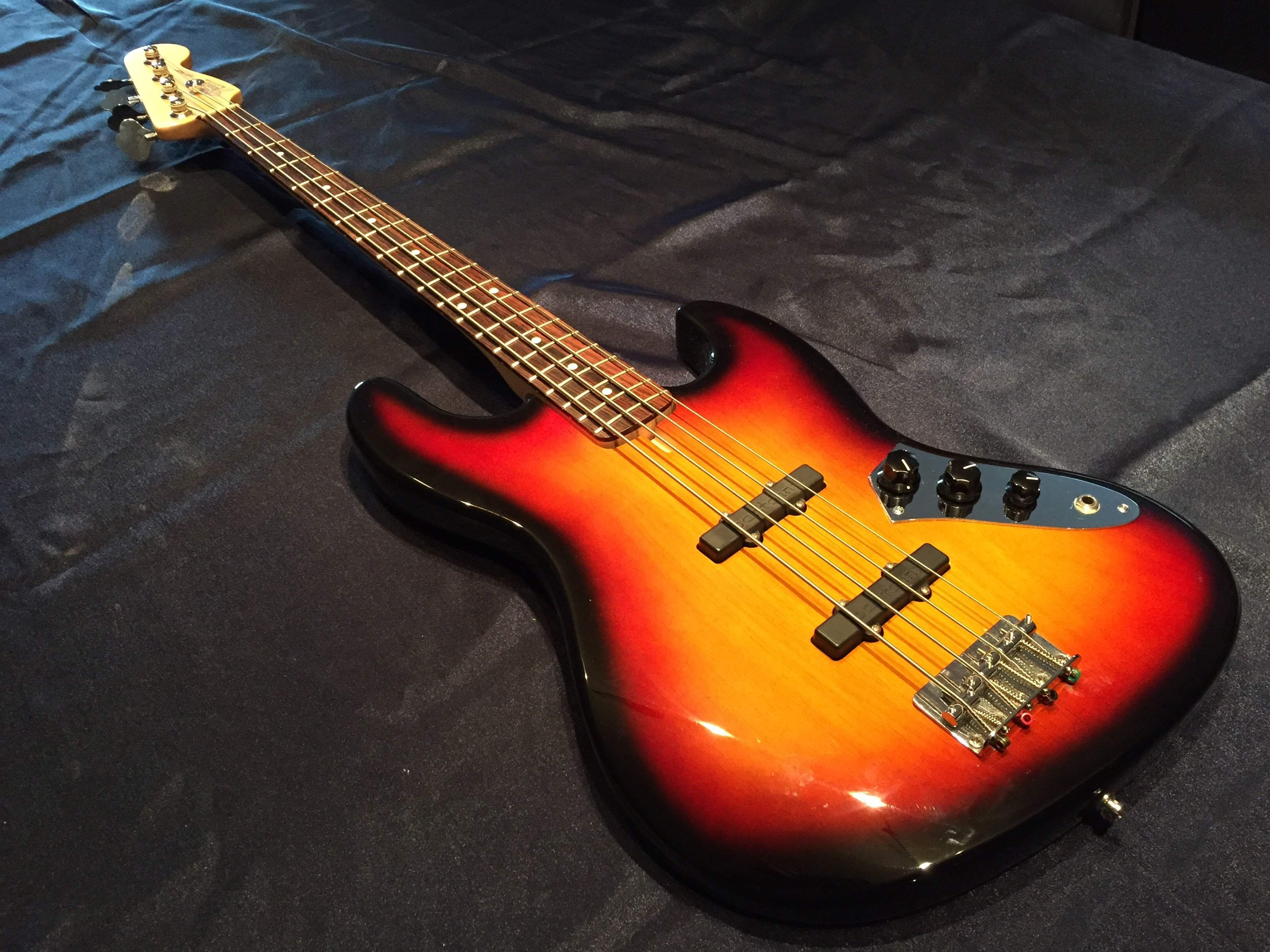SOLD - Jaco fretted or fretless Fender Warmoth Bart's