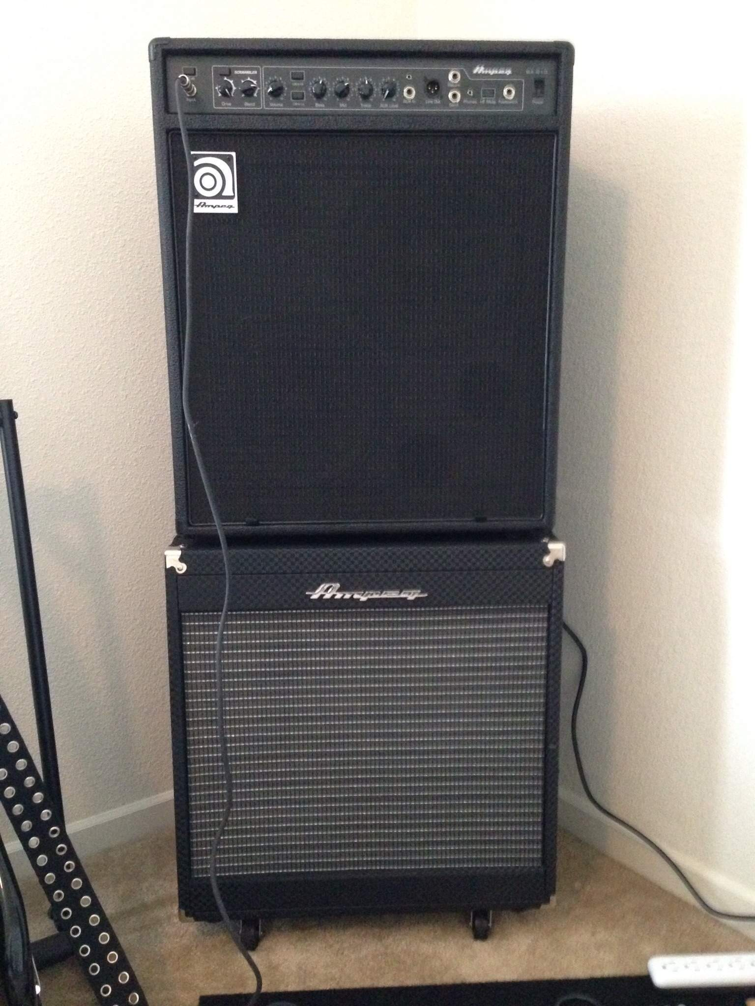 ampeg ba210 v2 anybody have a review. Black Bedroom Furniture Sets. Home Design Ideas