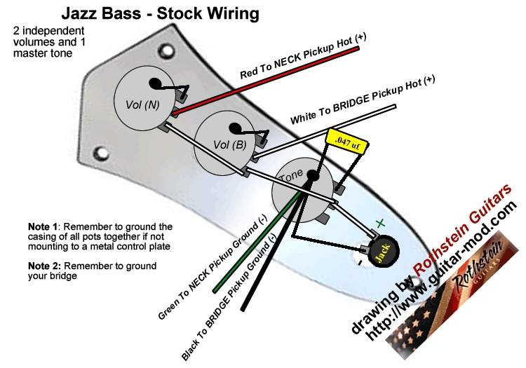 Going Crazy - Vvt Jazz Bass Wiring