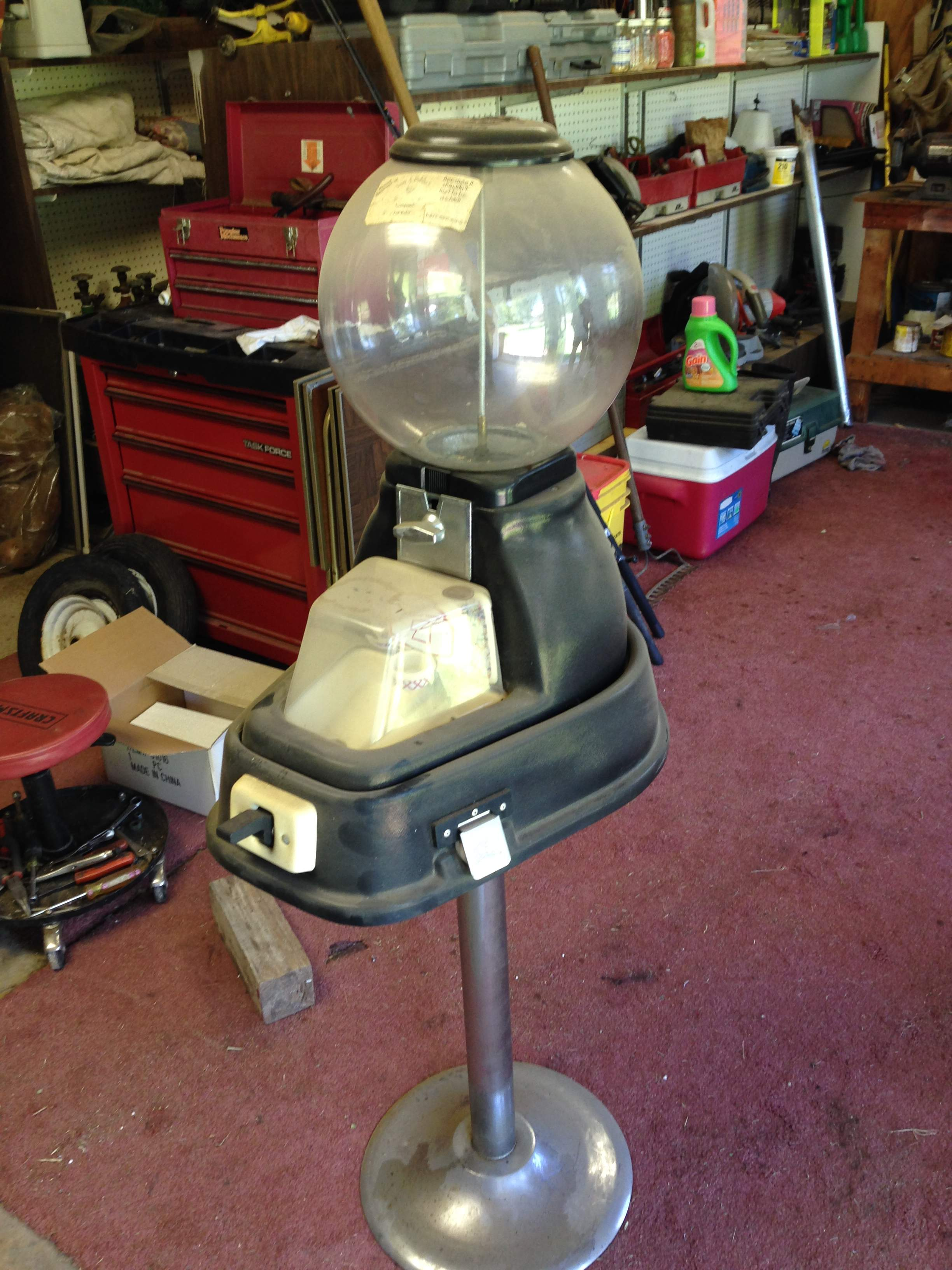 beaver gumball machine for sale