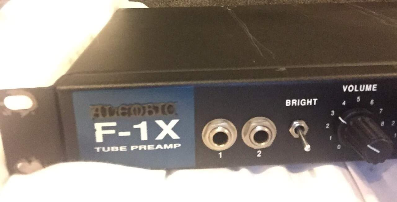 Sold Alembic F1 X Preamp Talkbasscom