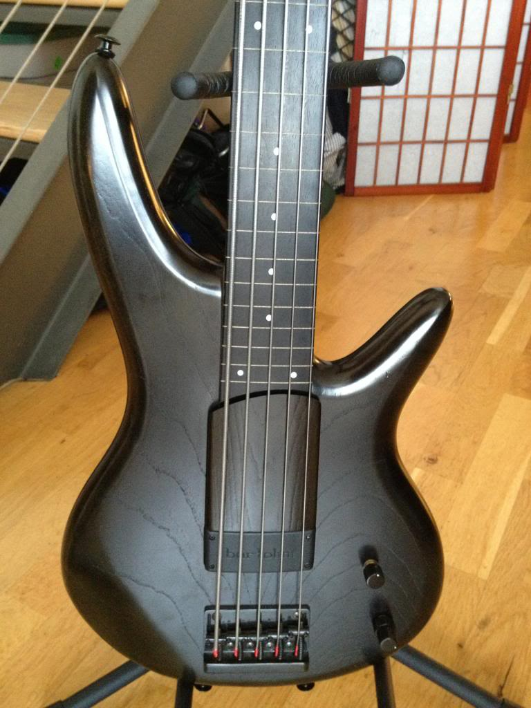 fs ibanez gwb1 gary willis 5 string fretless bass the original very rare. Black Bedroom Furniture Sets. Home Design Ideas