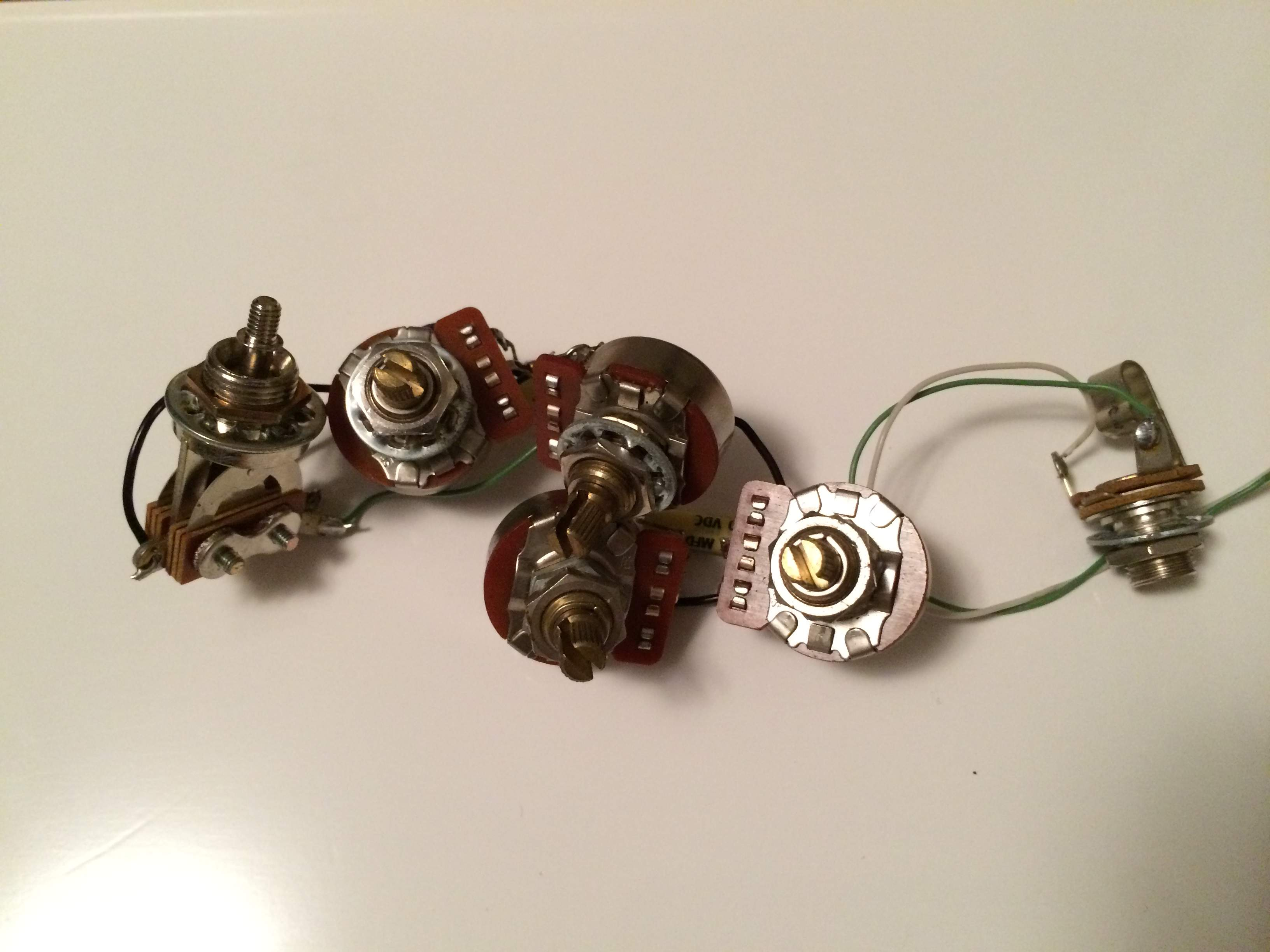 rickenbacker 4001 bass wiring harness 1979 used rickenbacker 4001 bass wiring harness 1979 used talkbass com
