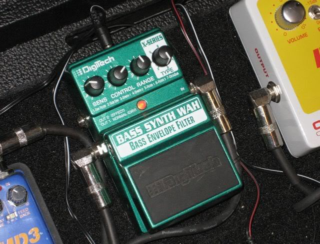 Digitech synth wah envelope filter guitar effects pedal | reverb.