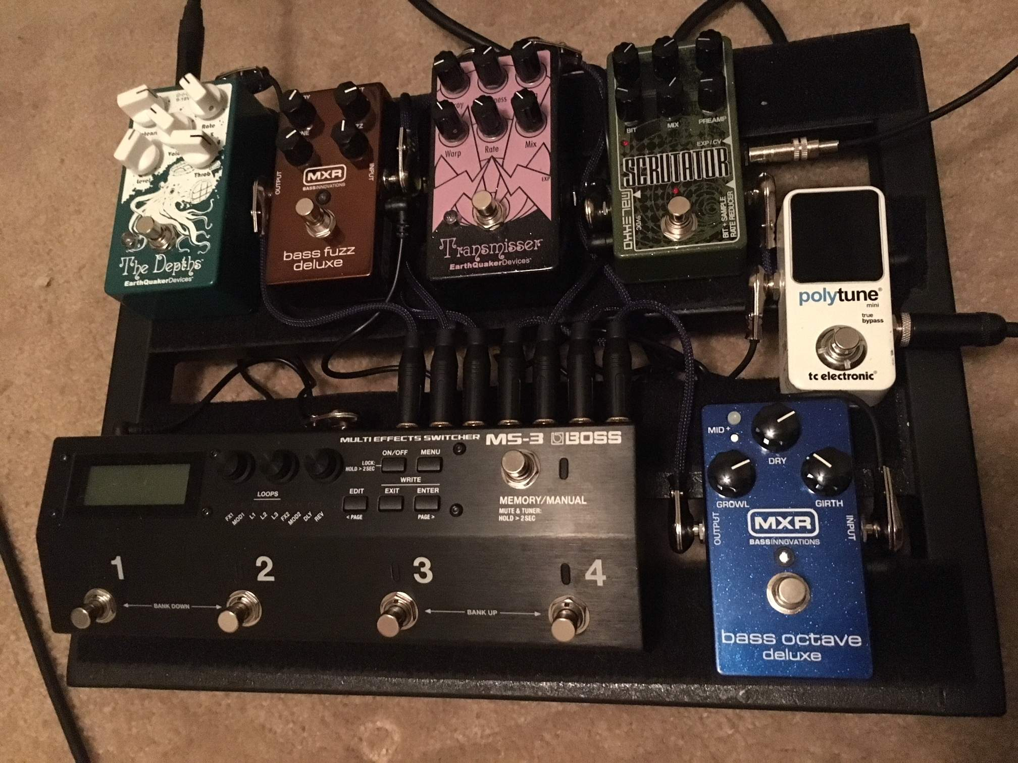 worship bass pedalboards page 158. Black Bedroom Furniture Sets. Home Design Ideas