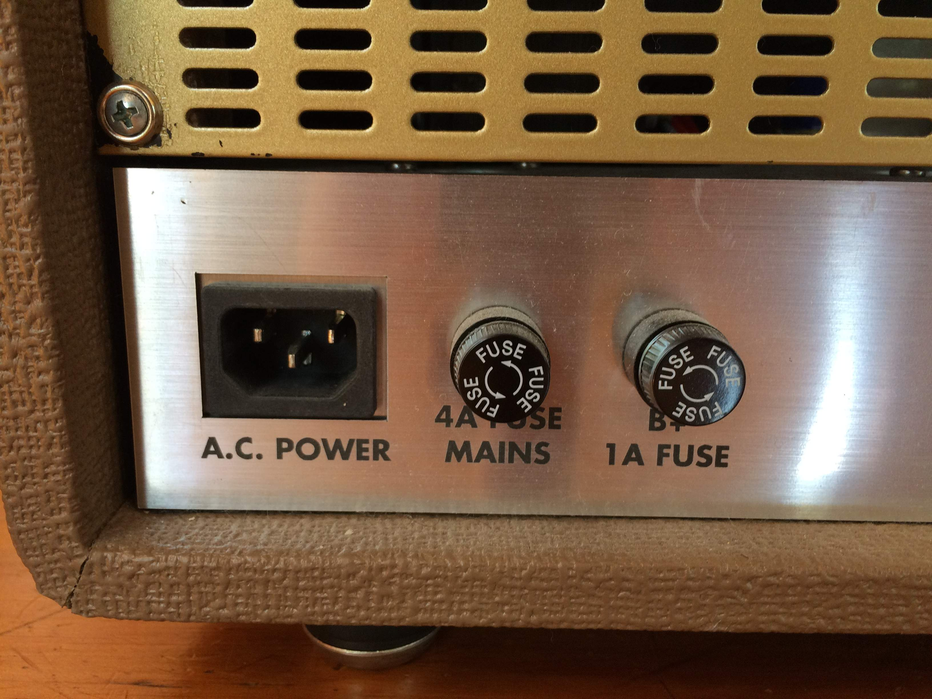SOLD - Custom All Tube Bass Head w/ KT88s and 12AX7s