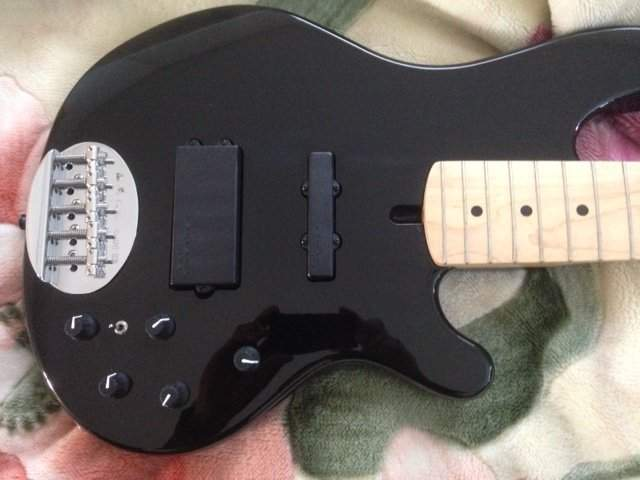 sold lakland 55 02 blk maple wht pickguard talkbass com lakland 5502 wiring diagram at mifinder.co
