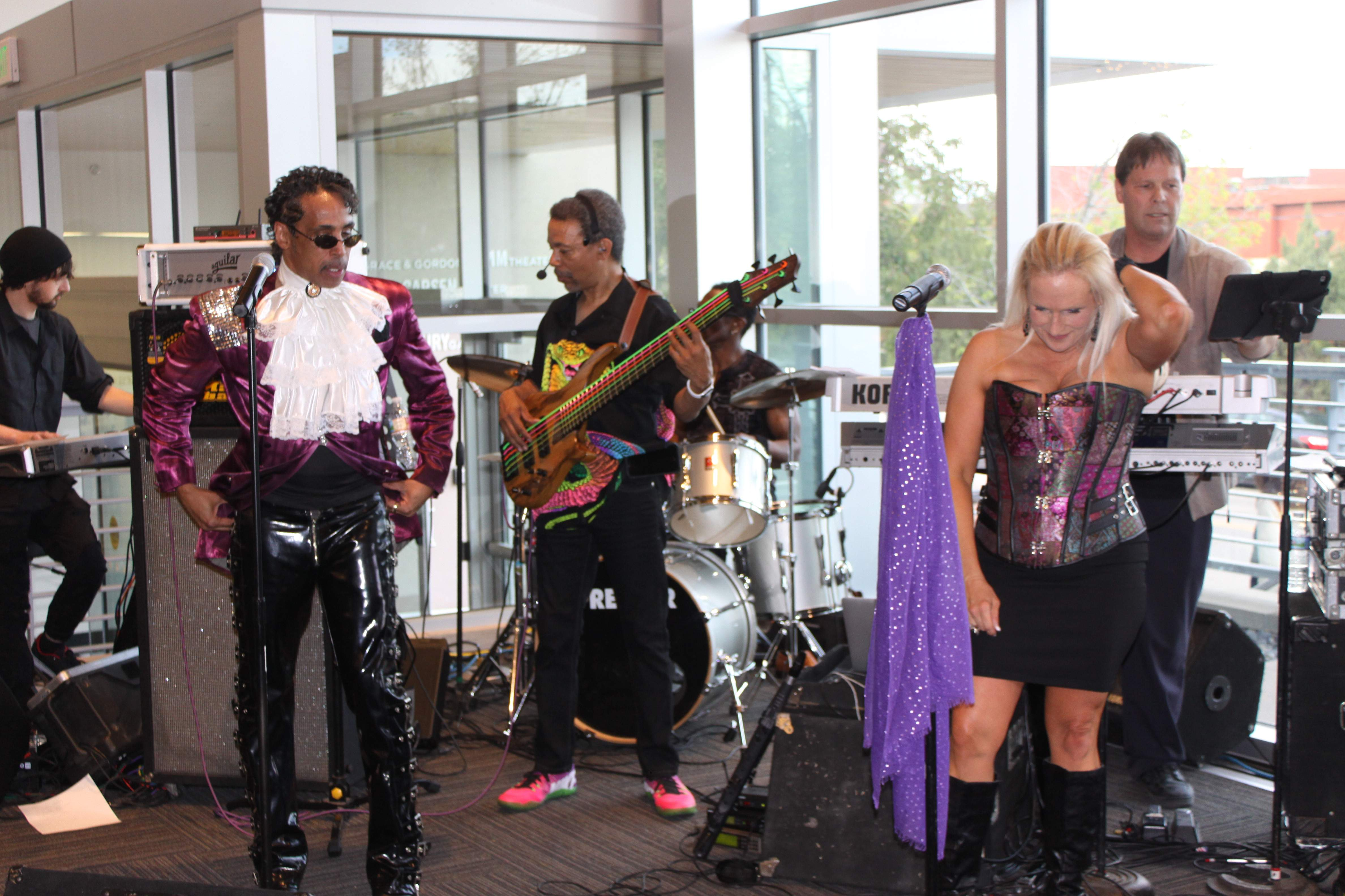 Recently joined a Prince tribute band       TalkBass com