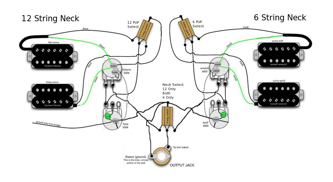 rickenbacker 4080 rewiring diagram