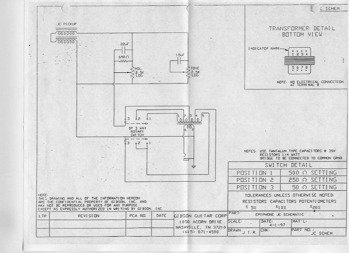 Epiphone Guitar Rotary Switch Wiring Diagram For G 400 Jack Cidy Talkbcom On Electronics Sgg