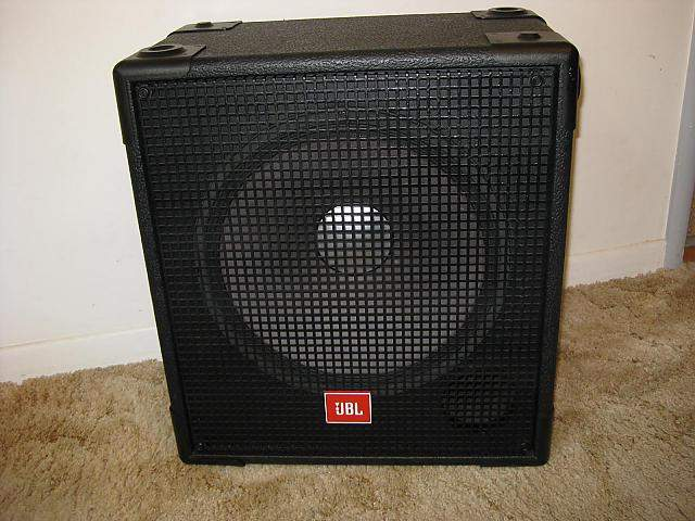 SOLD - JBL MR815 Bass Cabinet - $225 | TalkBass.com