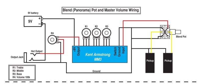kent armstrong mm3 bass preamp wiring? talkbass com kent armstrong wiring diagrams at honlapkeszites.co