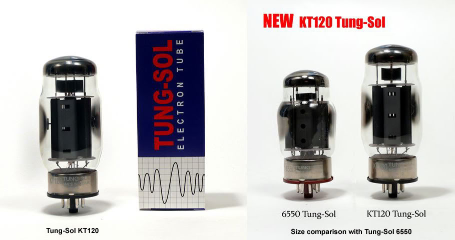 Behold: The Tung Sol KT-120 | TalkBass com