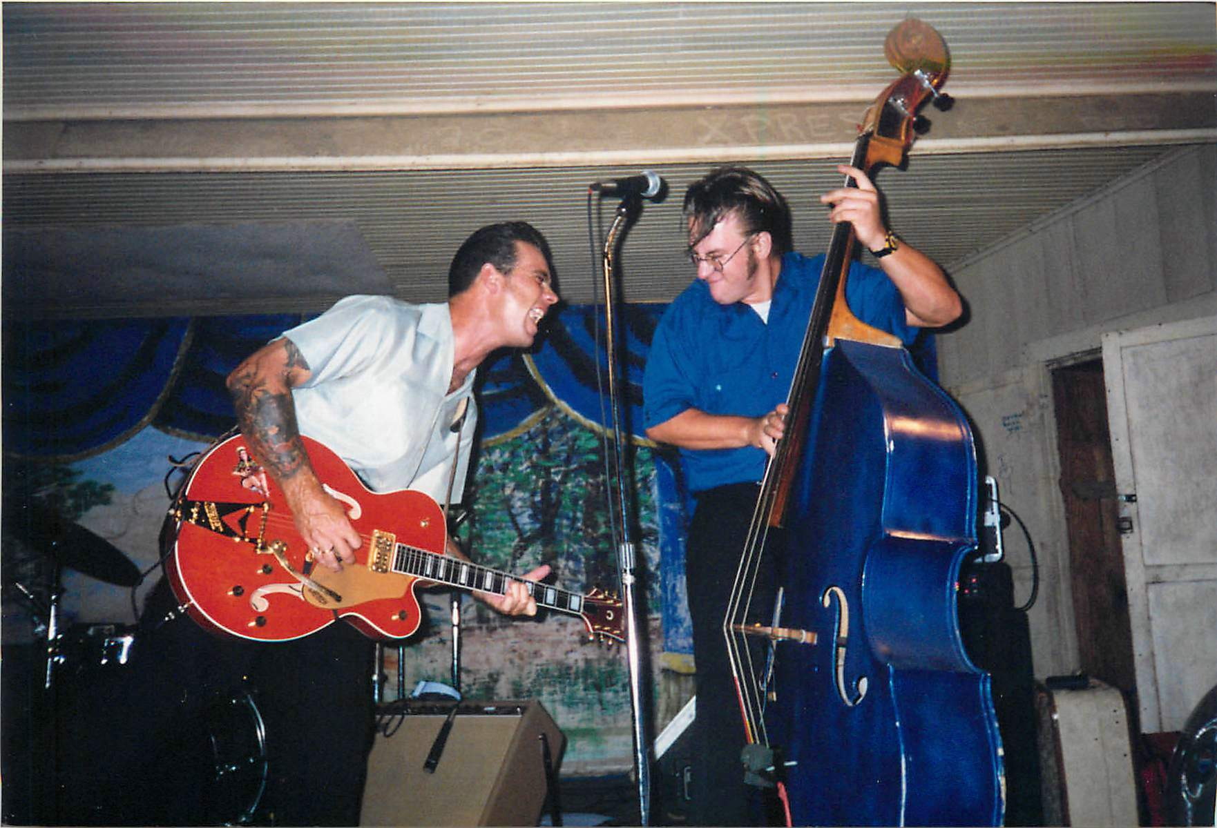 Me and Matt Jamming at Gruene Hall.jpg
