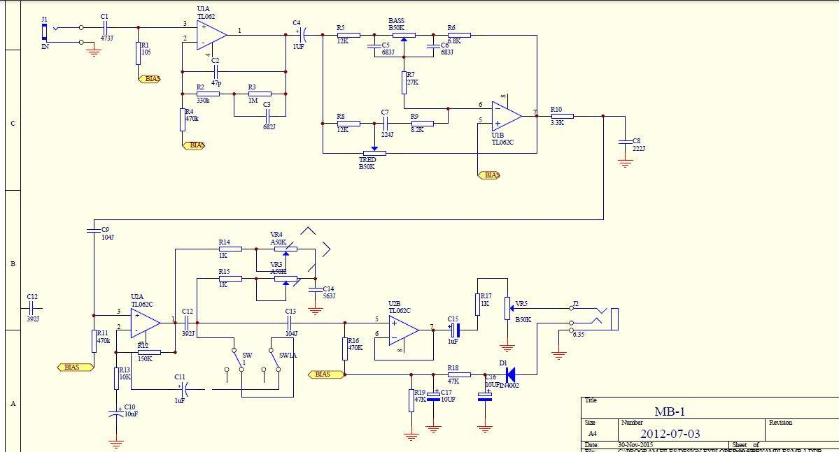 Ovation Preamp Schematic | Wiring Diagram on