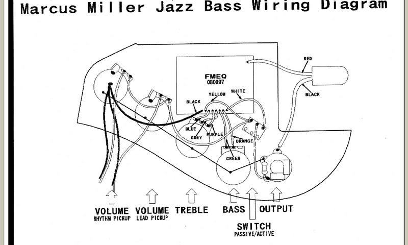 Fender Jazz Bass Special Wiring Diagram from www.talkbass.com