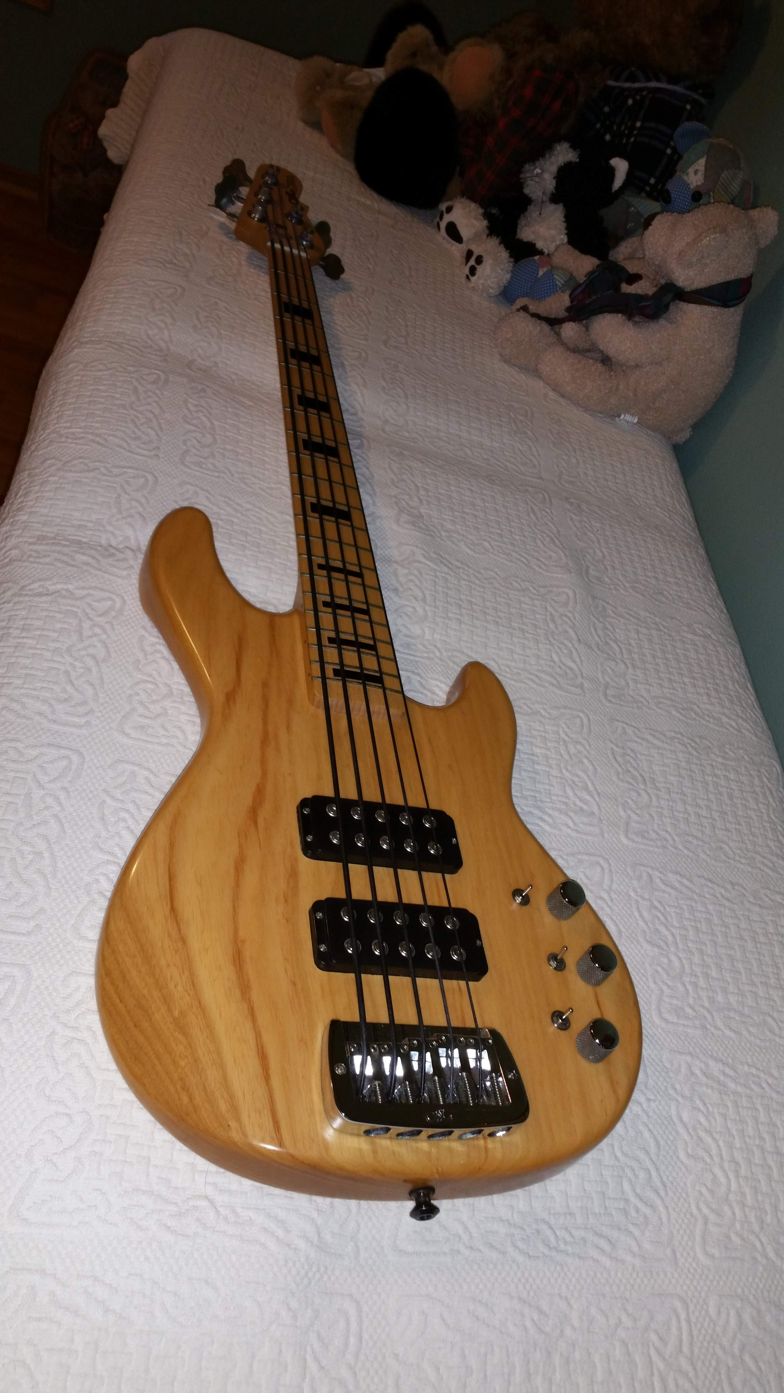My Fretted G&L.