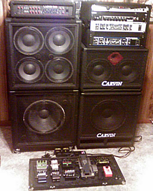SOLD - Complete Carvin Bass Rig FS/FT (Texas Only) | TalkBass.com