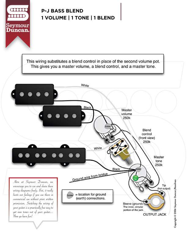 I Need Wiring Help For A Pj Bass
