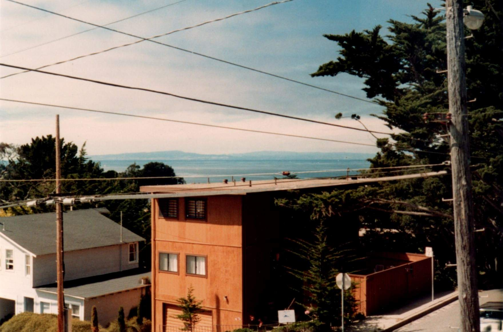 Pacific Grove apartment view.