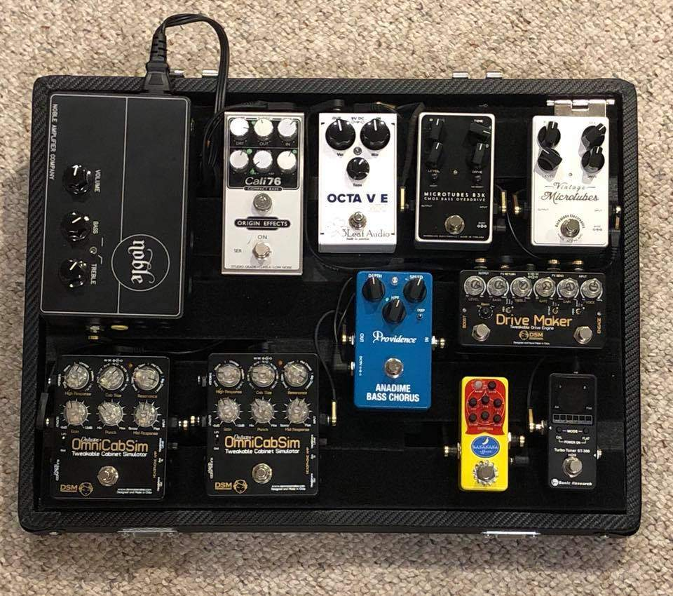 bass guitar pedal boards have bass players gone overboard like guitar players currently. Black Bedroom Furniture Sets. Home Design Ideas