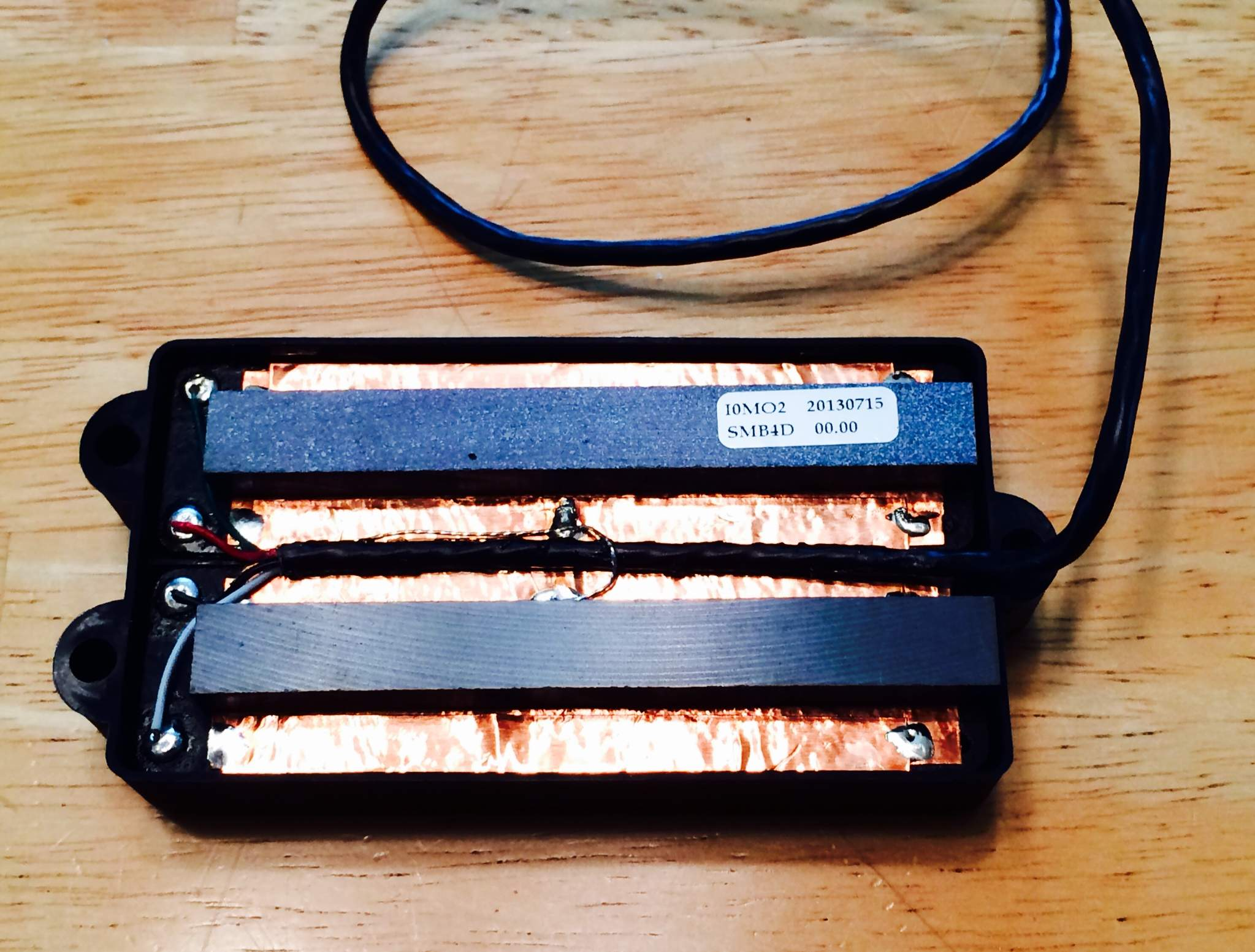 up for grabs is a newer duncan mm ceramic smb-4d pickup with the seymour  duncan logo which comes in the original packaging including wiring diagram