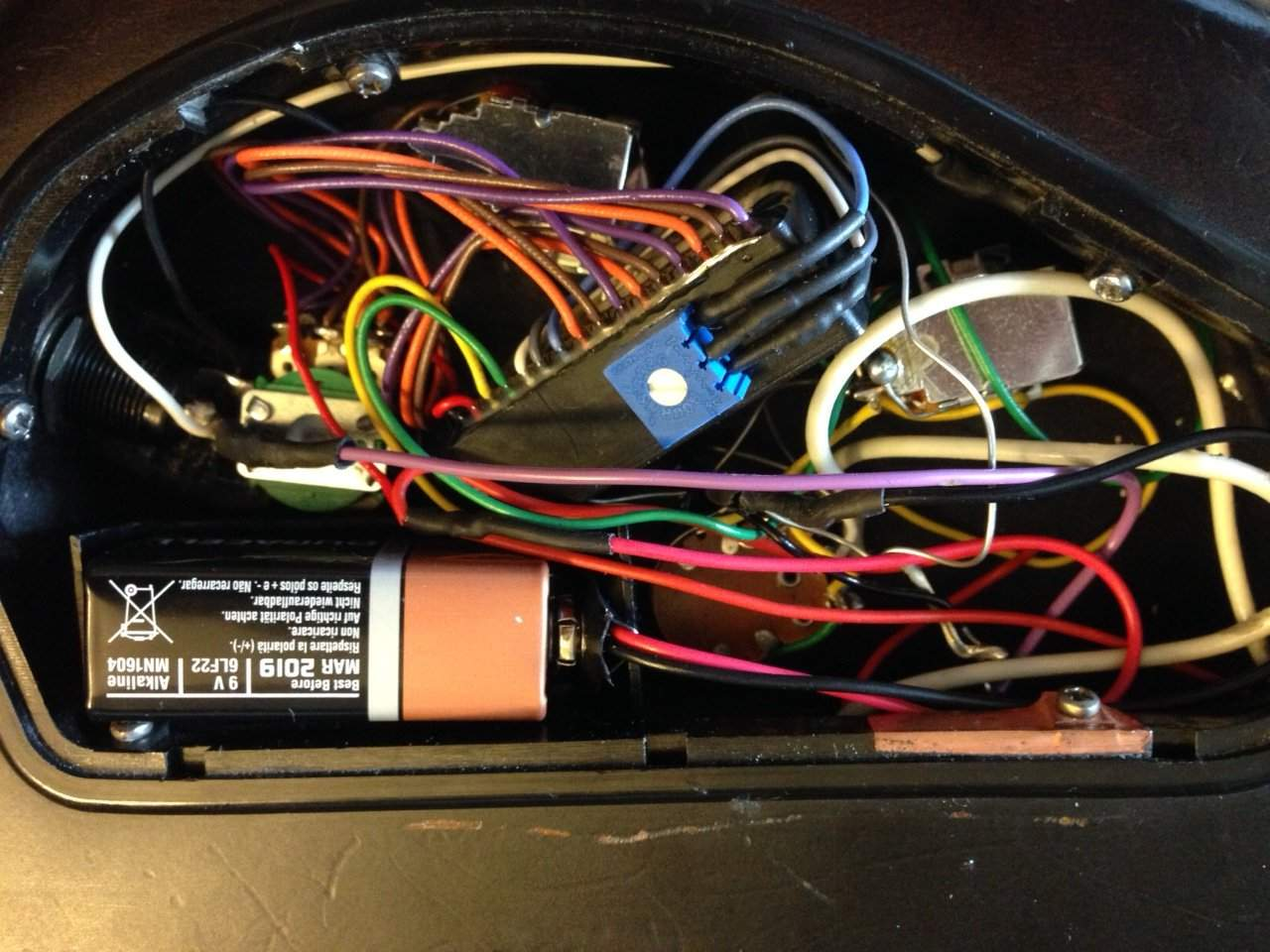 Soap Bar Pickup Wiring Diagram Auto Electrical Bartolini Active