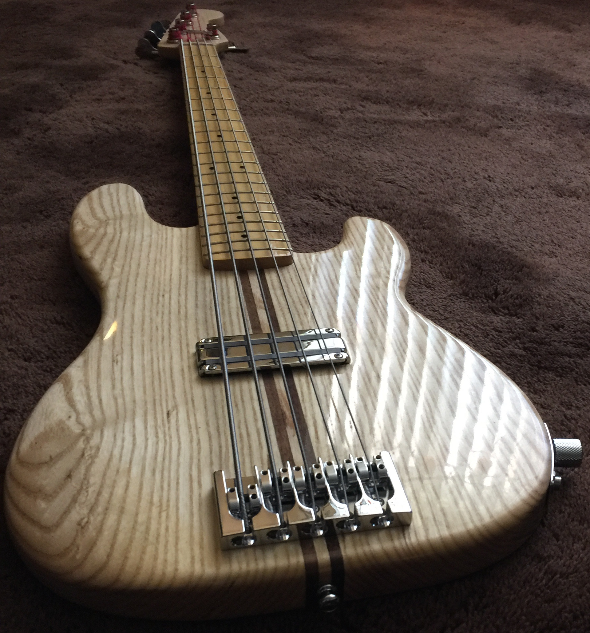 Routing Template For 5 String Precision Body Talkbass