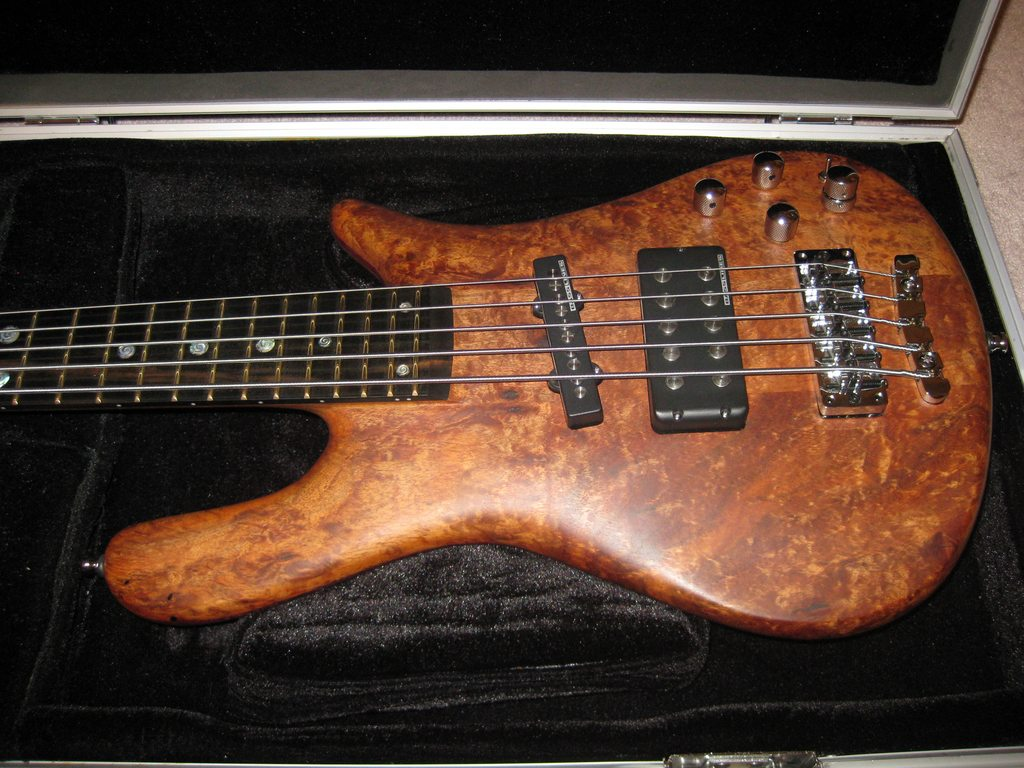 Sold Warwick P Nut Iii Signature Bass Mint Condition