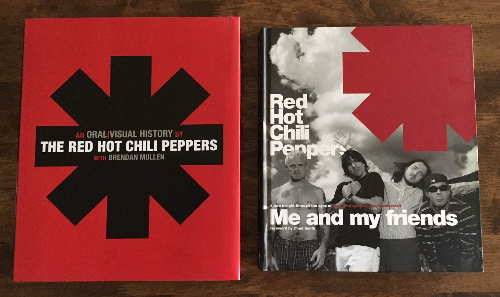 SOLD Red Hot Chili Peppers Coffee Table Books 2