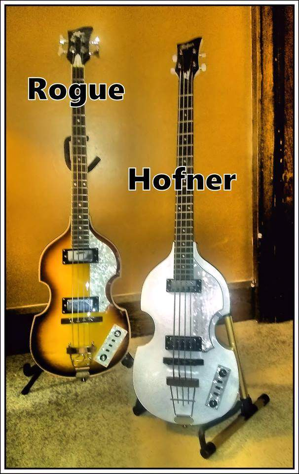 rogue and hofner.