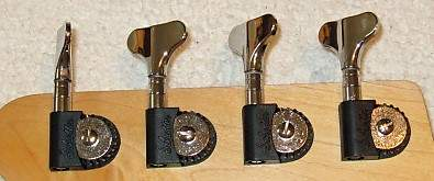 schaller chrome tuners.