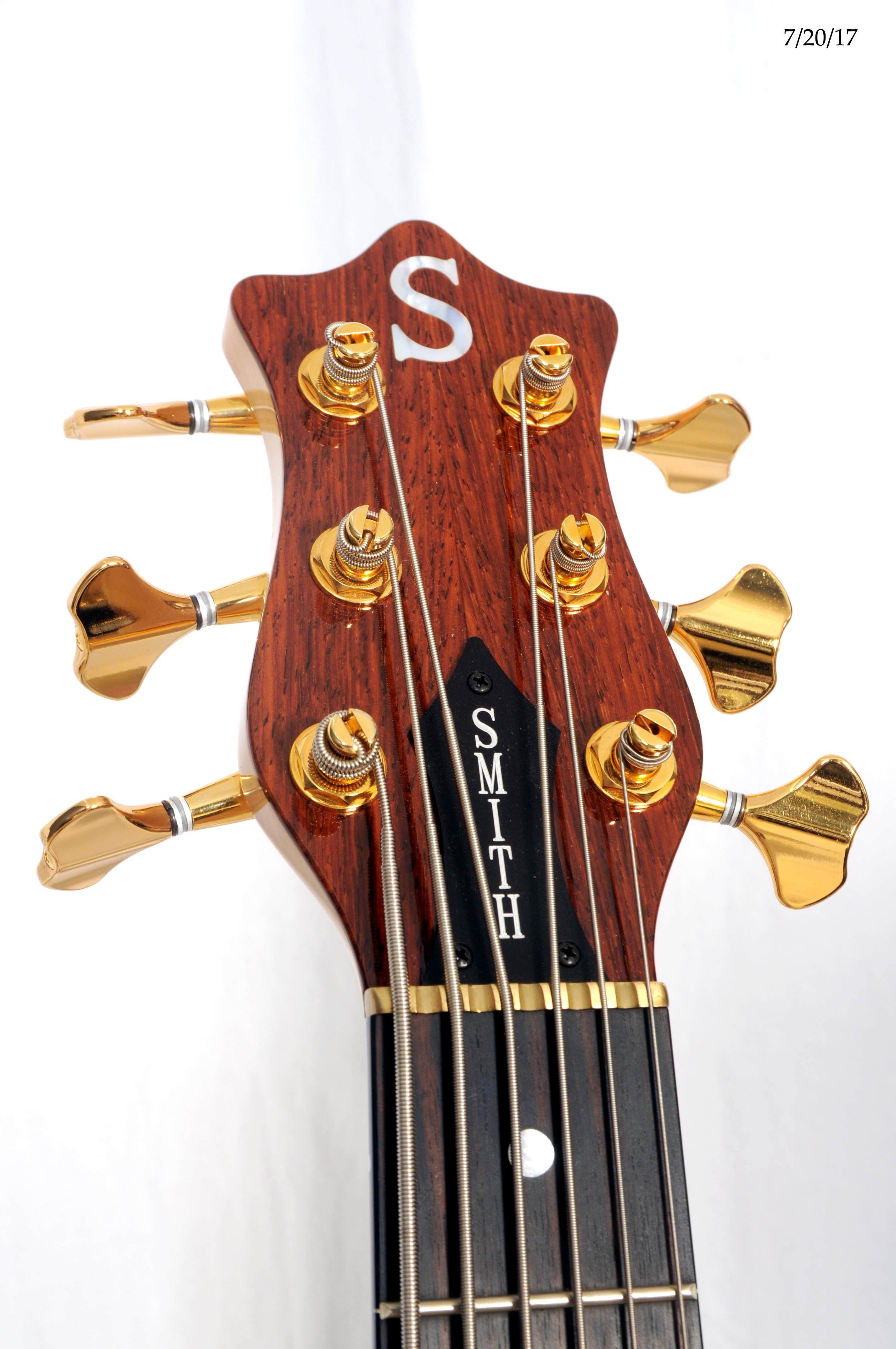 Smith Headstock Front.