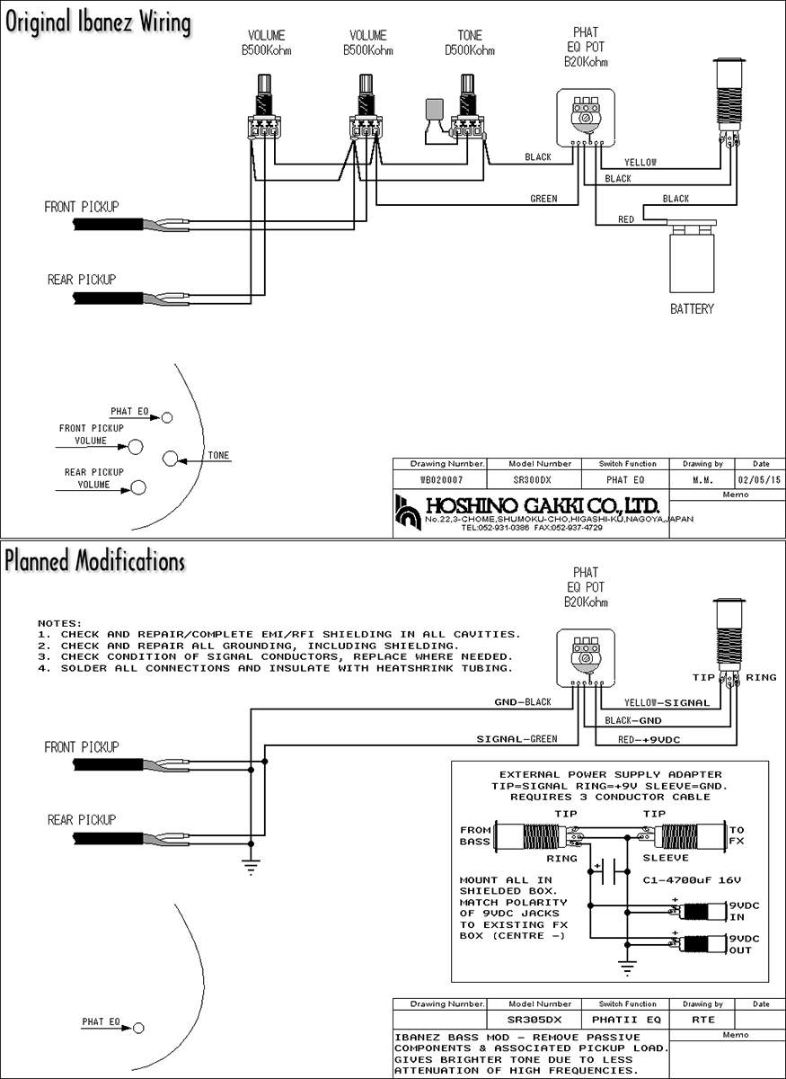 Ibanez Sr300dx Wiring Diagram 29 Images 3 Function Switch Sr305dx Mod Talkbass Com At