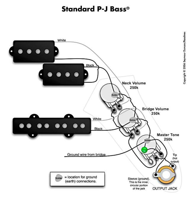 Squier Jazz Bass Wiring Schematic Wiring Solutions