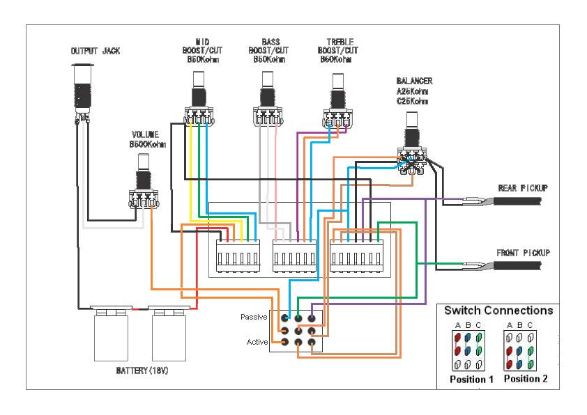 bass preamp wiring diagram search for wiring diagrams u2022 rh idijournal com aguilar preamp wiring diagram bartolini preamp wiring diagram