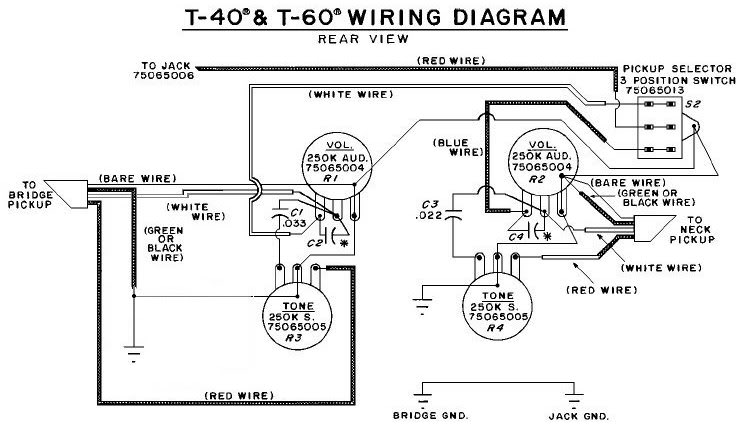 wiring diagram t40