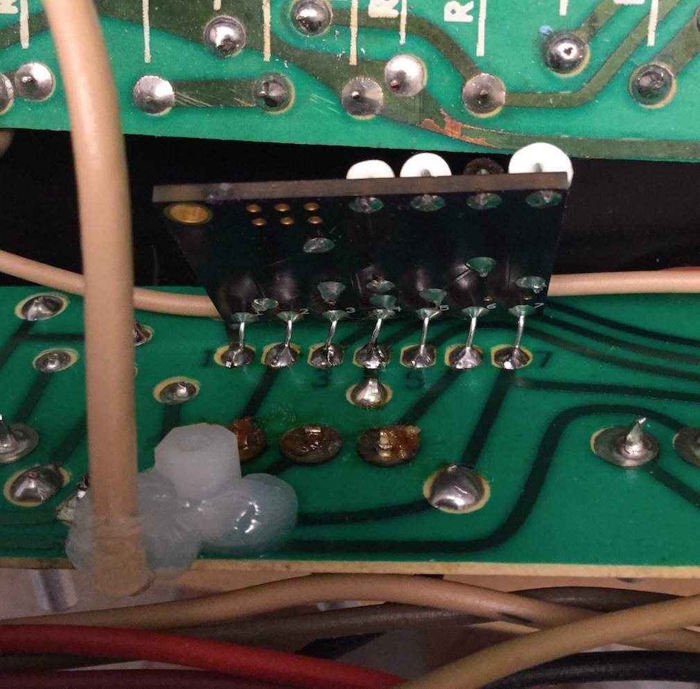 Technical Amplifier Of Printed Circuit Board Illustration A Green Img Bus Wires Soldered To Tone