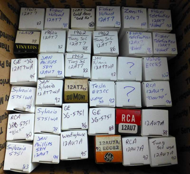For Sale - Vintage Preamp tube LOTS: 12AX7, 5751, 12AU7, 12AT7